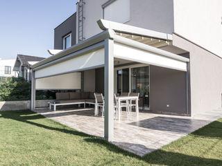 PERGOLA A.Ş. Minimalist style conservatory Aluminium/Zinc Grey