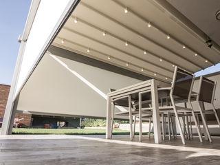 PERGOLA A.Ş. Minimalist style conservatory Wood-Plastic Composite Grey