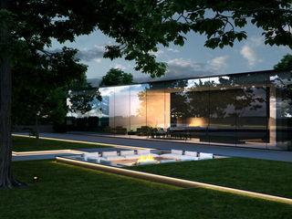 Проект загородного дома в современном стиле Way-Project Architecture & Design Детская комнатa в стиле минимализм