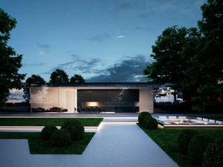 Проект загородного дома в современном стиле Way-Project Architecture & Design Дома в стиле минимализм