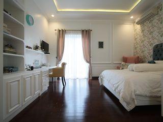 Kamar Anak- Kemang Timur Exxo interior Kamar tidur anak perempuan Kayu White