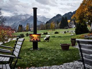 Outdoor-Feuerstelle Rüegg SURPRISE Rüegg Cheminée Schweiz AG Balkon, Veranda & TerrasseMöbel Eisen/Stahl Schwarz