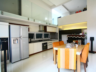 Living Dining Room Exxo interior Ruang Makan Modern