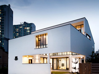 디자인그룹 콜라보 現代房屋設計點子、靈感 & 圖片