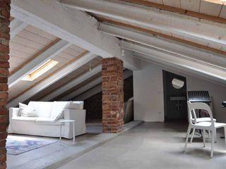Sottotetto - riuso creativo atelier architettura Tetto