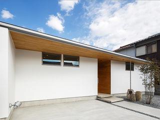 一級建築士事務所haus 일세대용 주택 우드 화이트