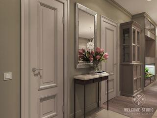 Мастерская дизайна Welcome Studio Ingresso, Corridoio & Scale in stile classico
