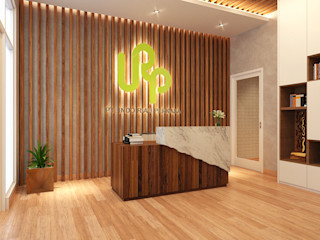 COMPACT & EFFICIENT OFFICE @ GREENLAKE CITY, TANGERANG PT. Dekorasi Hunian Indonesia (DHI) Kantor & Toko Modern