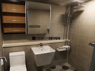 디자인세븐 حمام دوش وأحواض إستحمام بلاط Grey