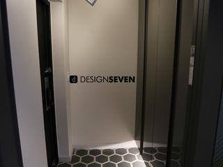 디자인세븐 سلالم وأروقة إضاءة بلاط Grey