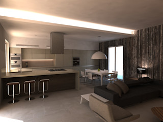 Alfonso D'errico Architetto Moderne woonkamers