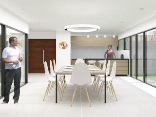 DDBB Arquitectos Casas modernas: Ideas, diseños y decoración