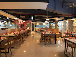 UNIQUE CONTEMPORARY DINING @ SEASON CITY APARTMENT, WEST JAKARTA PT. Dekorasi Hunian Indonesia (DHI) Gastronomi Modern