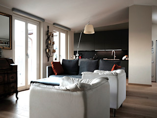 studionove architettura Built-in kitchens Engineered Wood Grey