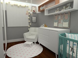 Angelica Pecego Arquitetura Дитяча кімната