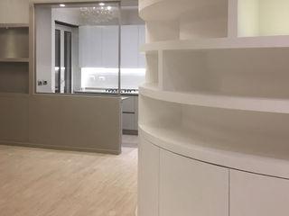 ULA architects غرفة السفرة Grey