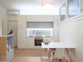 CHS   Urban Nest PLUS ULTRA studio Cucina in stile scandinavo Bianco