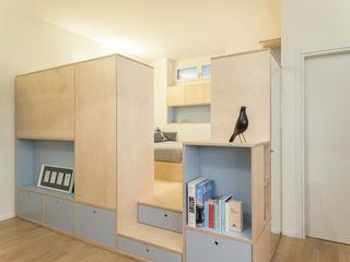 CHS   Urban Nest PLUS ULTRA studio Soggiorno in stile scandinavo Legno