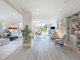 Richmond Family Home PAD ARCHITECTS Modern living room