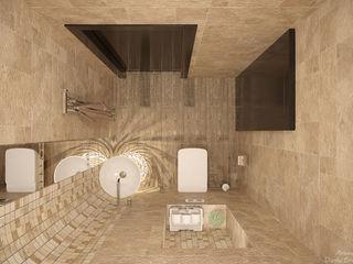 Студия интерьерного дизайна happy.design Modern bathroom