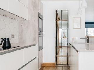 Scandinavian Style Kitchen Dining and Lounge Katie Malik Interiors Kitchen