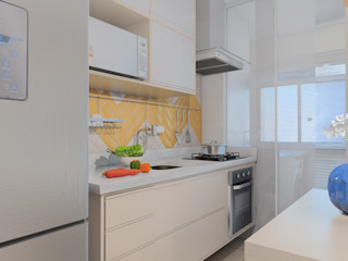 TAED ARQUITETURA Built-in kitchens