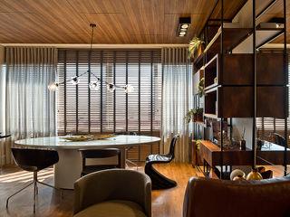 Espaço do Traço arquitetura Modern Study Room and Home Office