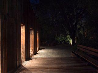 Crescente Böhme Arquitectos Wooden houses Wood Brown