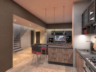 Damiano Ferrando | Architectural Visualization | Living room