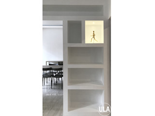 ULA architects غرفة السفرة
