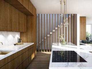 Innenarchitektur 3D-Visualisierung winhard 3D Moderne Küchen