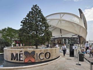 Padiglione Messico EXPO 2015 Pietre di Rapolano Sedi per eventi moderne Pietra Beige