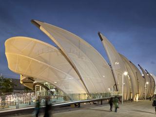 Padiglione Messico EXPO 2015 Pietre di Rapolano Sedi per eventi moderne Marmo Beige