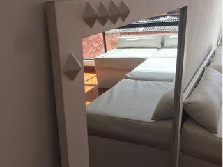 Felipe Lara & Cía Гостиная в стиле минимализм Дерево Белый