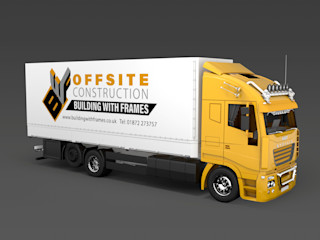 OFFSITE CONSTRUCTION - Introducing Our New Logo Building With Frames Prefabricated home Wood