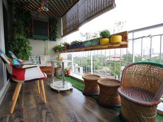 Thumbnail Design Studio Modern balcony, veranda & terrace