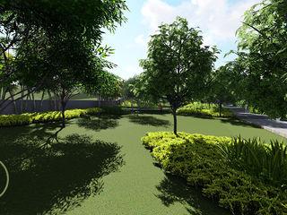 Verde Lavanda Сад Дерево Зелений