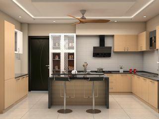 ARK Architects & Interior Designers 現代廚房設計點子、靈感&圖片