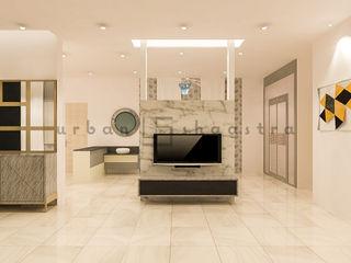 Residence Urban Shaastra Minimalist living room MDF