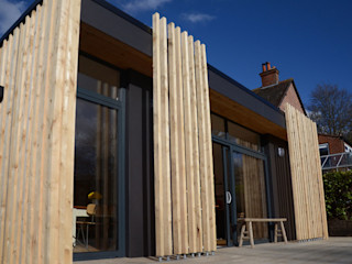 Rear Extension to Victorian House, Haslemere ArchitectureLIVE Detached home Black