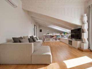 13FG Chantal Forzatti architetto Soggiorno moderno Bianco