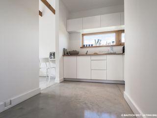 Bautech Sp. Z O.O. Modern Mutfak Beton Beyaz