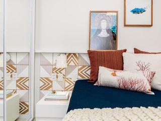 Coletânea Arquitetos Tropical style bedroom