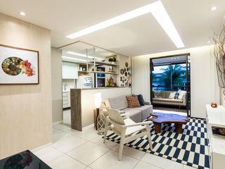 Coletânea Arquitetos Tropical style living room