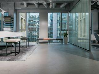 Bautech Sp. Z O.O. Ofis Alanları Beton Gri