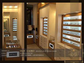 Old Cairo Oficinas de estilo clásico Madera Blanco