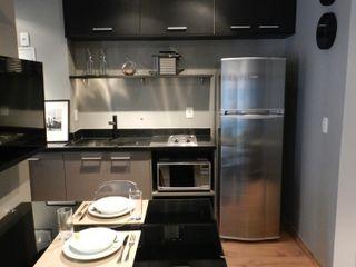 BP.ARQ DESIGN Built-in kitchens MDF Grey