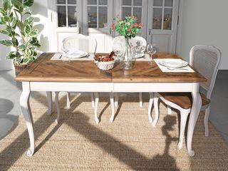 LA BOTTEGA DEL FALEGNAME KitchenTables & chairs Solid Wood Wood effect