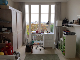 Chambre d'adolescent moderne- Before and after Lichelle Silvestry