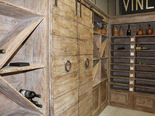 Porte del Passato Bodegas Madera Acabado en madera